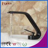 Faucet тазика черноты ванной комнаты конструкции способа Fyeer 2015 новый