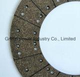 Cara de embrague material de la fricción de Kevlar de la alta calidad