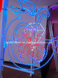 Bande à haute tension de la lumière DEL de corde de RVB (HVSMD5050-60)
