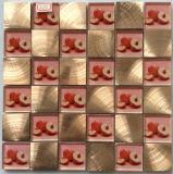 De speciale Tegel van het Mozaïek van het Aluminium van het Glas van het Kristal van het Ontwerp Mozaïek Gemengde (FYL112)
