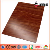 ASTM cetificated 1220 * 2440mm PE y PVDF revestido Madera ACP