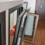 熱壊れ目のアルミニウムプロフィールのマルチロックKz114が付いている内部の傾きおよび回転Windows