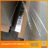 hoja de acrílico clara/transparente de 1m m de la hoja del plástico PMMA del acrílico