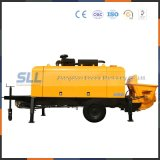 Eléctrico / diesel de remolque de camión bomba de concreto cemento