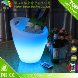 LED Rechargeable Bar Wine Cooler Godet à glace LED