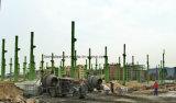 Frame econômico de pouco peso da construção de aço para a vertente simples do aço