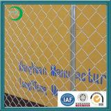 Galvanisierter temporärer Aufbau-Kettenlink-Zaun