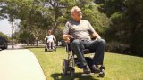 전기 1 두번째 접히는 휠체어 세륨은 승인했다