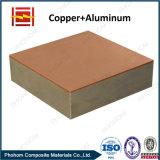 アルミニウム銅のクラッディングの転移の接合箇所のためのバイメタルストリップ
