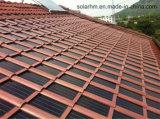 голубая, котор развевали солнечная плитка крыши 8W