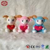 Jouet se reposant de la CE de la meilleure de cadeau du jour de Valentines peluche de moutons belle