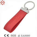 Freies Samples Custom Leather Keychain für Promotion Gift