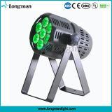 단계를 위한 최고 밝은 7*15W RGBW LED 싼 DJ 장비