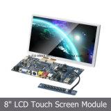 Módulo y kit de la pantalla táctil del LCD de 8 pulgadas con VGA/HDMI