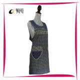 Impressão quente do algodão da venda que cozinha o avental da cozinha
