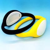 Brecelet elegante clásico del Wristband del silicón de la aduana 13.56MHz ISO1443A MIFARE 1K RFID para la gerencia del club de aptitud