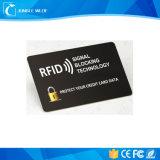 Impressão personalizada RFID que obstrui cartões