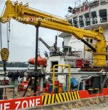 5-25 Mariene Kraan van de Boom van het Gewricht van de Haven van de ton de Hydraulische met ABS BV- Certificaat