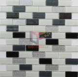 23 * 48mm Polvo brillante mosaico Decoración de cristal brillante (CFC606)