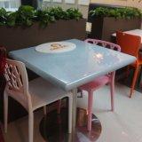 아크릴 단단한 지상 식사 가구 의자 테이블