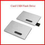 USB3.0 que desliza el mecanismo impulsor de la tarjeta de crédito de aluminio del flash del USB