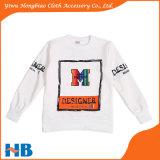 연약한 Breathable 인쇄된 긴 소매 아이들의 소년 t-셔츠