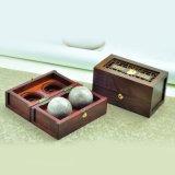 Rectángulo de empaquetado de madera de la bola del cuidado médico