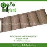 Mattonelle di tetto del metallo con Coate di pietra (mattonelle romane)