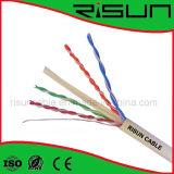 Massen-UTP CAT6 Netz-Kabel mit Zug-Kasten Belüftung-Umhüllung