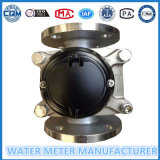 Het afneembare Koude Water Dn65mm van de Meter van het Water van de Wijzerplaat van het Roestvrij staal Droge