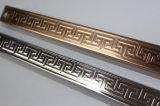 도매 스테인리스 용접된 돋을새김된 관