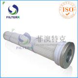 Filtros de saco plissados da indústria de cimento