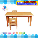 Houten Children Table voor Kindergarten (xyh12143-8)