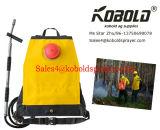 Im FreienWaldbrandfighting-Rucksack mit Wasser-Handpumpe