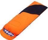 卸し売り大人の屋外の寝袋のエンベロプのフランネルのライニング