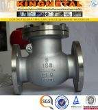 Prix de la soupape CF8m de vérification de l'acier inoxydable Dn100