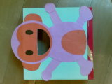 Деревянная коробка с Hotstamping и пятно UV