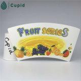 PE вентилятора чашки белой бумаги качества еды Hztl покрытый