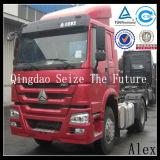 Sinotruk HOWO 4X2のトラクターのトラック336HP