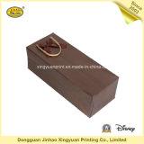 Sac de papier de cadeau de qualité pour le vin (JHXY-PBG0025)