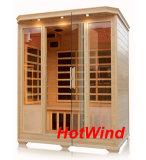 2016 Sauna infrarrojo lejano para 3 persona-H3