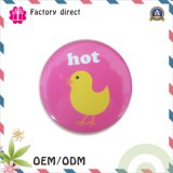 Free Sample 10years Handowrk Factory Tin Button Badge Safety Pin