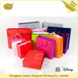 Impresión Cmyk regalo empaquetado bolsas de papel (JHXY-PBG0002)