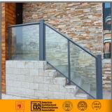 Balustrades et frontière de sécurité en aluminium de balcon