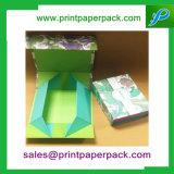 Cadre de empaquetage de cheveux humains de bijou de cadre de parfum de cadre de cadeau cosmétique de fantaisie fait sur commande de cadre de papier