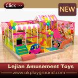 Cour de jeu molle d'intérieur d'enfants commerciaux (T1502-6)
