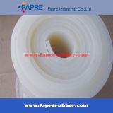 Feuille en caoutchouc de silicone / feuille de caoutchouc silicone transparente à haute température mince.