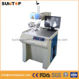 Почищенная щеткой алюминиевая машина маркировки маркировки лазера/лазера для почищенного щеткой алюминия