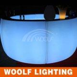 LEDの丸棒カウンターによって照らされるLEDのライトバー表