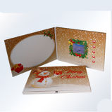 video cartolina d'auguri dell'affissione a cristalli liquidi 2.4inch